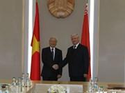 Le leader du PCV rencontre des dirigeants biélorusses