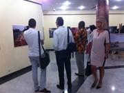 Ouverture de l'exposition «Lumières d'Afrique» à Dakar
