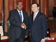 Le président Truong Tan Sang reçoit le vice-Premier ministre éthiopien
