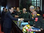 Le chef de l'Etat reconnaît les apports de l'Association des anciens combattants