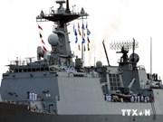 Deux navires sud-coréens jettent l'ancre à Ho Chi Minh-Ville