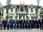 Des anciens combattants laotiens et cambodgiens à Hanoi
