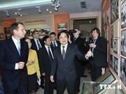 Le président de la Douma d'Etat rencontre des étudiants de Hanoi