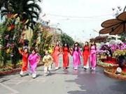 La fête de fin d'année 2014 à Ho Chi Minh-Ville