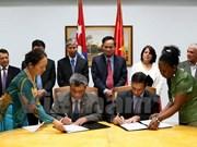 Le Vietnam et Cuba intensifient leur coopération dans les finances