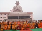 Inauguration de la première pagode Theravada vietnamienne en Inde