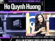 MAMA : Hô Quynh Huong - Meilleur artiste du Vietnam en Asie
