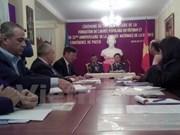 Point presse sur les 70 ans de la fondation de l'Armée vietnamienne en Algérie