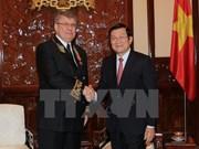 Le président Truong Tan Sang reçoit l'ambassadeur russe
