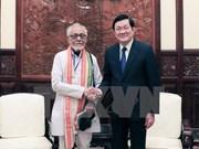 Renforcement de la solidarité Vietnam-Inde