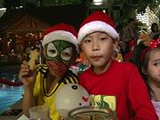 Noël avant l'heure pour les orphelinats de Birla