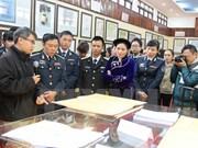 Exposition sur Hoang Sa et Truong Sa à Cao Bang