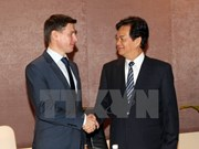 Le PM reçoit le ministre russe chargé du Commerce du Comité économique Asie-Europe