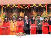Inauguration d'une pagode et d'une complexe touristique à Ban Gioc