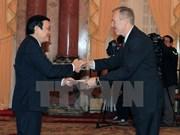 Le chef de l'Etat reçoit les ambassadeurs américain, panaméen et qatari