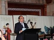 Nguyen Xuan Phuc à un Forum des entrepreneurs Vietnam-EAU