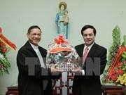 Rencontre à l'occasion de Noël 2014 à Nam Dinh
