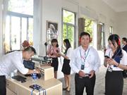 Un audioguide disponible au Musée de la sculpture Cham de Dà Nang