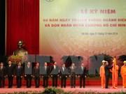 L'électricité, 60 ans et l'Ordre Hô Chi Minh en bouquet