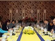 Une délégation du Parti Russie unie à Ho Chi Minh-Ville