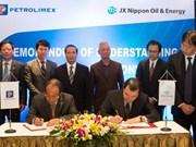 Petrolimex coopère avec JX Nippon Oil & Energy