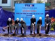 Mise en chantier du Centre d'information de la VNA à Hanoi