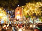 La fête de Noël célébrée dans l'ensemble du pays