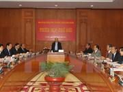 Le leader du PCV demande une lutte radicale contre la corruption en 2015