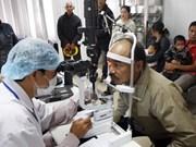 Soins ophtalmologiques d'Orbis pour les habitants de Thua Thien-Hue