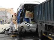Nouvel an : 81 morts dans des accidents de la route en trois jours