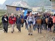 Des dizaines de milliers de touristes visitent le Vietnam début 2015