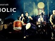Une troupe de tambours japonais au Vietnam