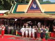 Meeting en l'honneur de la victoire du 7 janvier 1979 à Phnom Penh