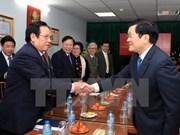 Le chef de l'Etat rencontre d'anciens jeunes volontaires