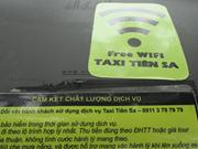 Les premiers taxis vietnamiens munis du Wifi gratuit