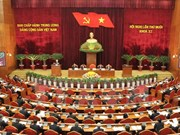 La 6e journée de travail du 10e Plénum du CC du Parti