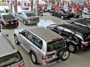 Bond des ventes de véhicules à quatre roues en 2014