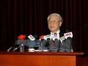 Nguyen Phu Trong pousse le Parti et le peuple à œuvrer pour le développement