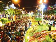 Festival floral à Hô Chi Minh-Ville à l'occasion du Têt traditionnel