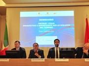 Colloque sur la promotion touristique Vietnam-Italie à Rome