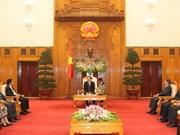 Un vice-PM vietnamien accueille les chefs des délégations à la MRC