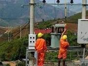 Amélioration du système de l'électricité dans les régions reculées