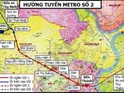 HCM-Ville: mise en chantier des ouvrages de la ligne de métro N°2