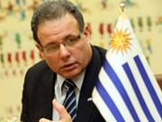 Le président de la Chambre des députés de l'Uruguay arrive à Hanoi