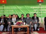 Activités d'une délégation de la Sécurité publique au Cambodge