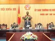 Réunion du Comité permanent de l'Assemblée nationale