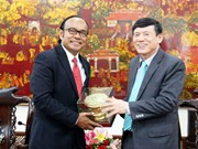 Une délégation de l'Association d'amitié Cambodge-Vietnam à Bac Ninh