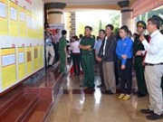 Binh Thuân: exposition de documents historiques et juridiques sur Hoang Sa et Truong Sa