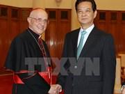 Le cardinal Fernando Filoni reçu par le Premier ministre vietnamien