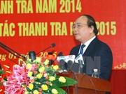 Les inspecteurs doivent renforcer la lutte anti-corruption